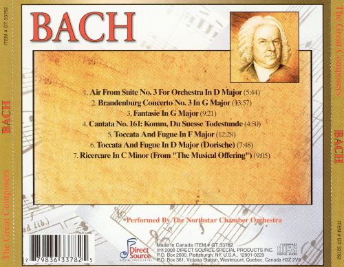 Master of the Baroque: Bach