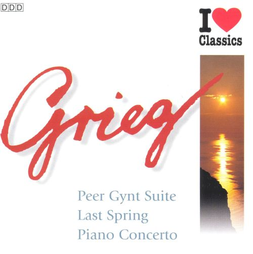 Grieg: Peer Gynt Suite; Holberg Suite; Piano Concerto
