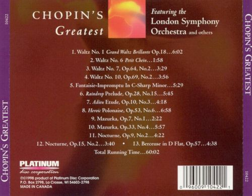 Chopin's Greatest
