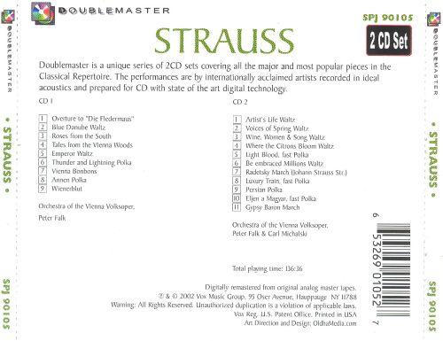 Strauss: Famous Waltzes and Marches