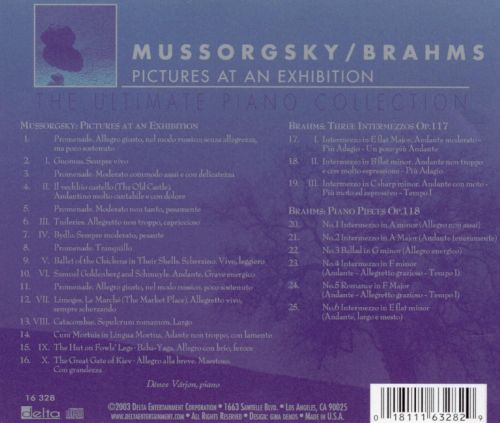 Rhapsody in Blue, Vol. 17: Mussorgsky - Pictures at an Exhibition; Brahms - Piano Pieces