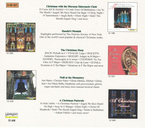 Classical Christmas [Laserlight Box Set 2001]