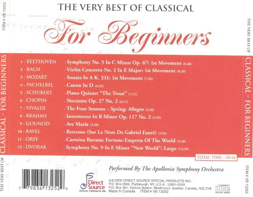The Very Best of Classical: For Beginners