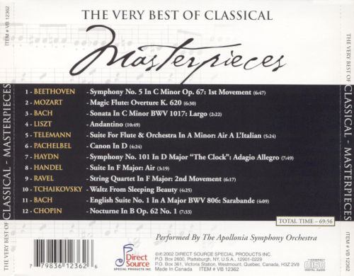 The Very Best of Classical: Masterpieces