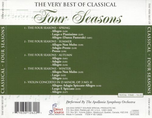 The Very Best of Classical: Four Seasons