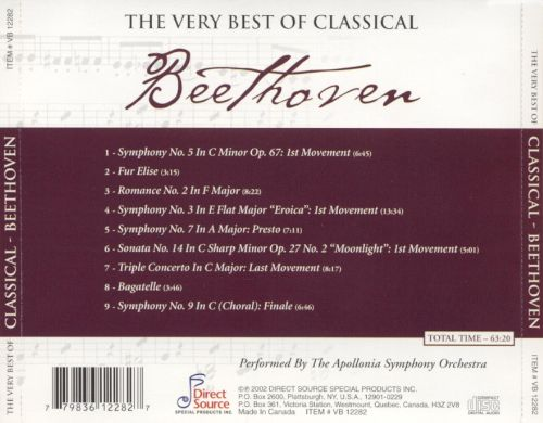 The Very Best of Classical: Beethoven