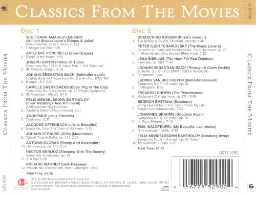 Classics from the Movies [Madacy]