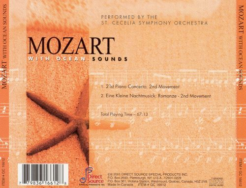 Mozart With Ocean Sounds