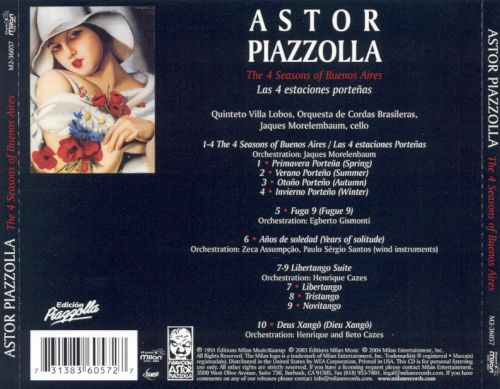 Astor Piazzolla: The 4 Seasons of Buenos Aires