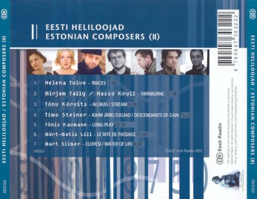 Estonian Composers, Vol. 2