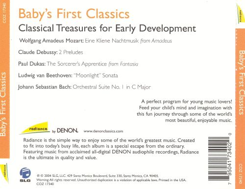 Baby's First Classics: Classical Treasures for Early Development