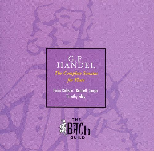 G.F. Handel: The Complete Sonatas for Flute