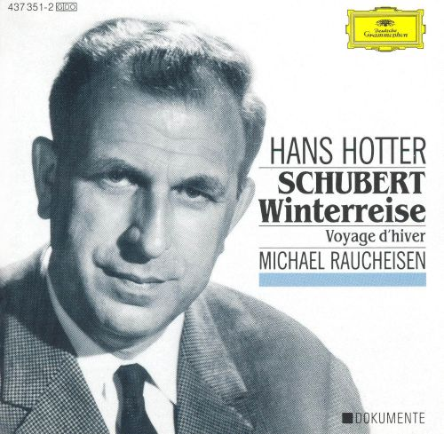 Winterreise, song cycle for voice & piano, D. 911 (Op. 89)