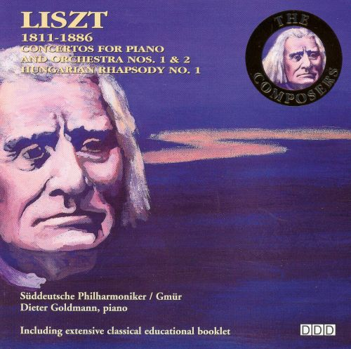 Liszt: Concertos for Piano and Orchestra Nos. 1 & 2; Hungarian Rhapsody No. 1