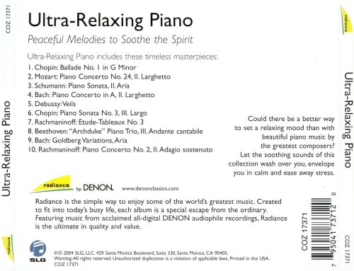 Ultra Relaxing Piano: Peaceful Melodies to Soothe the Spirit