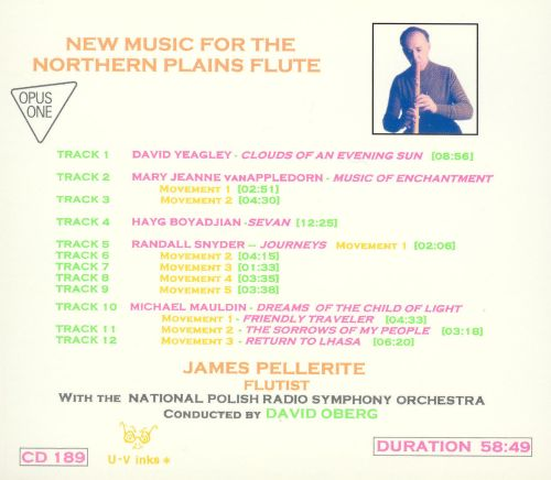 New Music for the Northern Plains Flute