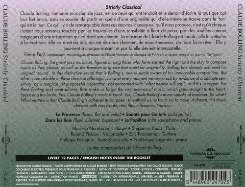 Claude Bolling: Strictly Classical