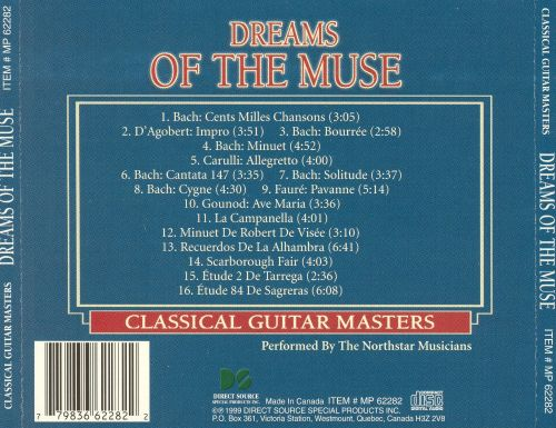 Classical Guitar Masters: Dreams of the Muse