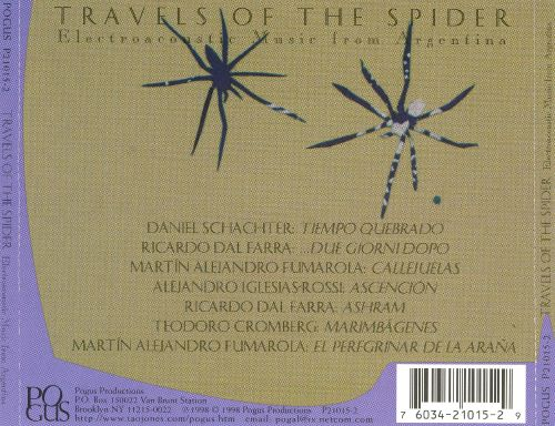 Travels Of The Spider: Electroacoustic Music From Argentina