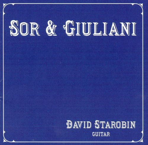 David Starobin Performs Sor and Giuliani