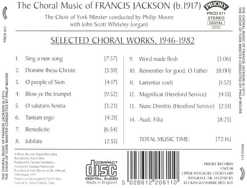 The Choral Music of Francis Jackson