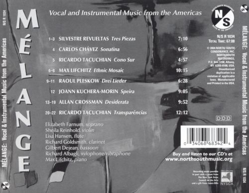 Melange: Vocal & Instrumental Music from the Americas