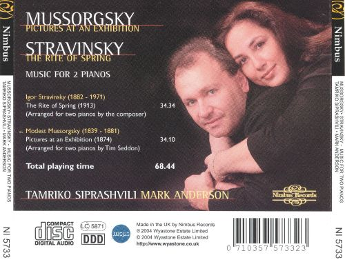 Mussorgsky: Pictures at an Exhibition; Stravinsky: The Rite of Spring