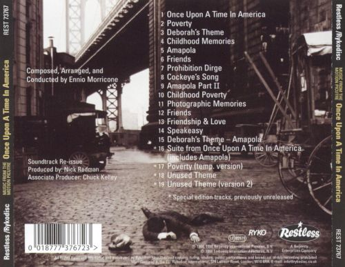 once upon a time in america soundtrack download