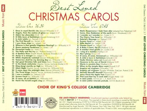 best loved christmas carols best loved christmas carols