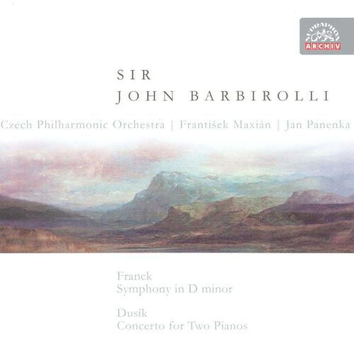 Franck: Symphony in D minor; Dusik: Concerto for Two Pianos