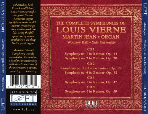 The Complete Symphonies of Louis Vierne