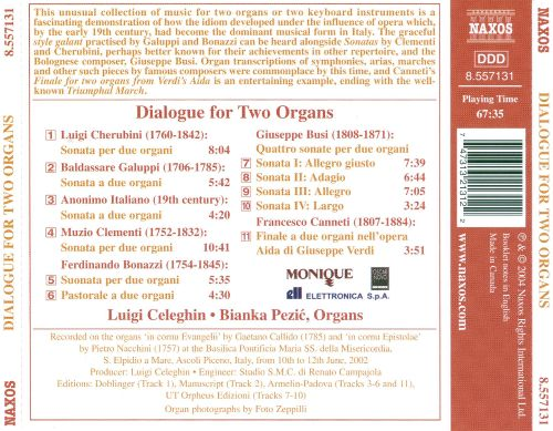 Dialogue for Two Organs