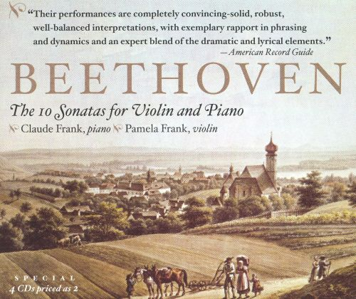 Beethoven: The 10 Sonatas for Violin & Piano