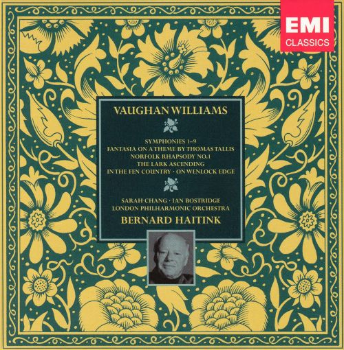 Vaughan Williams: Symphonies Nos. 1-9 and Other Orchestral Works [Box Set]