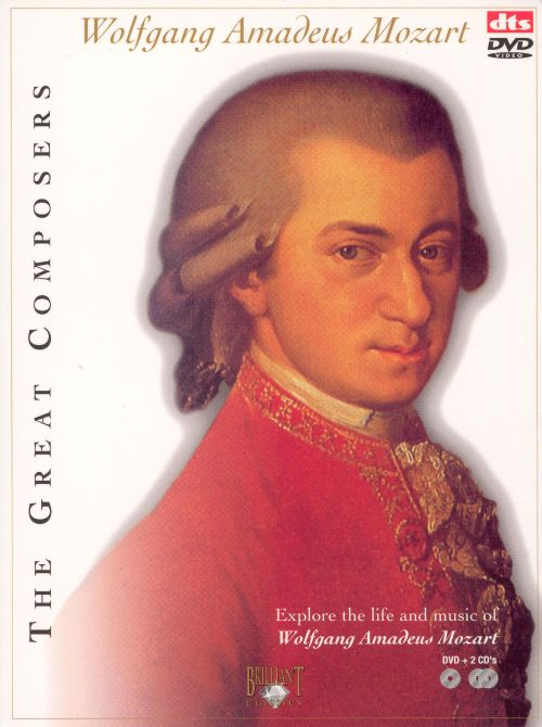 The Great Composers: Wolfgang Amadeus Mozart [DVD + 2 CDs ...