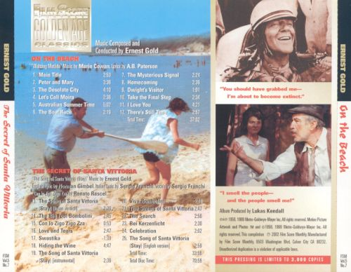 On The Beach Original Motion Picture Soundtrack