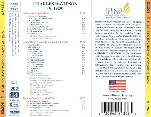 Charles Davidson: A Singing of Angels; And David Danced Before the Lord