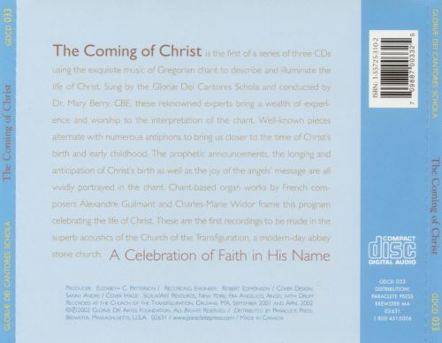 Celebration of Faith in His Name: The Coming of Christ