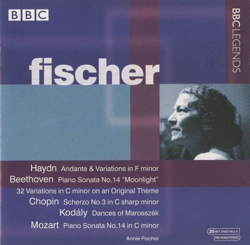 Fischer Plays Haydn, Beethoven, Chopin, Kodály, Mozart