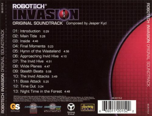 Robotech Invasion (Original Soundtrack)