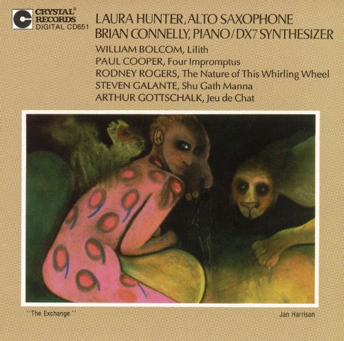 Bolcom: Lilith; Cooper: Four Impromptus; Rogers: The Nature of This Whirling Wheel; Etc.