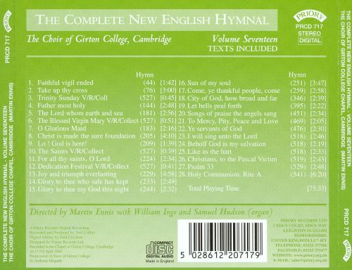 The Complete New English Hymnal, Vol. 17