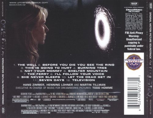 The Ring / The Ring 2 [Original Motion Picture Soundtracks]