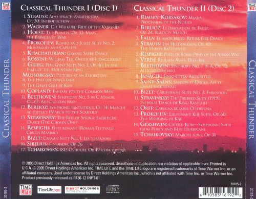 Time Life Presents: Classical Thunder