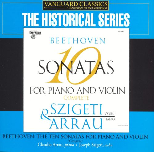 Beethoven: 10 Sonatas for Piano and Violin, Complete