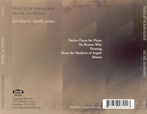 Phillip Schroeder: Music for Piano