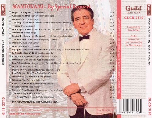 The Golden Age of Light Music: Mantovani by Special Request