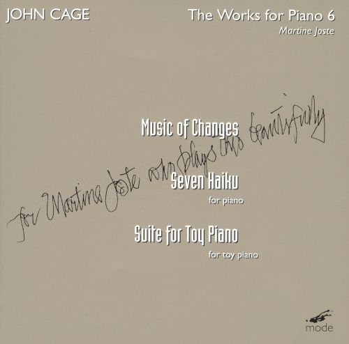 John Cage: Works for Piano, Vol. 6