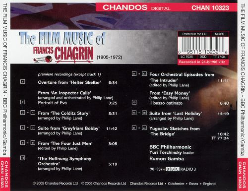 The Film Music of Francis Chagrin