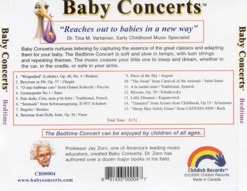 Baby Concerts: Bedtime